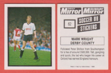 Derby County Mark Wright England